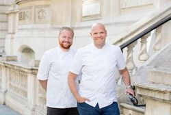 Nick Beardshaw und Tom Kerridge