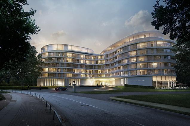 The Fontenay, Hamburg